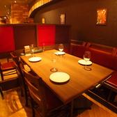 4名テーブル席