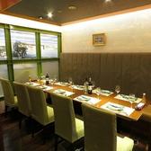 ゆったりと落ち着いた雰囲気のテーブル個室となっております。宴会、飲み会にもおすすめ!要予約。