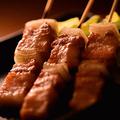 料理メニュー写真黒豚バラ串
