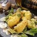 料理メニュー写真特製オーロラソースの海老マヨ