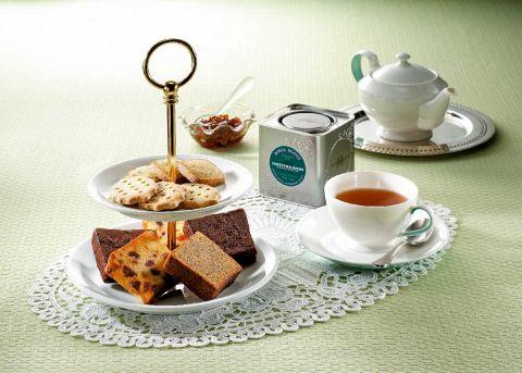 紅茶やジャムを始めとする英国からの直輸入品と焼き菓子等◎
