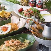 アジアを代表するエスニック料理の数々♪