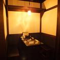 半個室。2~4名様におすすめのお席。デートや女子会にぴったりの落ち着いた空間。【横浜/居酒/飲み放題/宴会/女子会/デート/歓迎会/送別会/忘年会/貸切/3時間/個室】