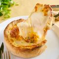 料理メニュー写真話題沸騰中【5種チーズのシカゴピザ】登場!!溢れるチーズはまさにフォトジェニック・ムービージェニック♪