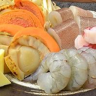 【こだわりの仕入れ】築地直送の新鮮魚介を存分に楽しむ
