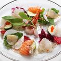 料理メニュー写真北海の幸のカルパッチョ
