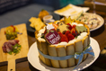 誕生日や記念日などには可愛い手造り8号ケーキを♪アニバーサリーコースをご注文で♪