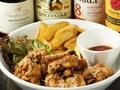 料理メニュー写真鶏の唐揚げ&フライドポテト