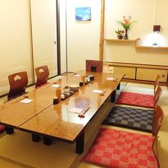 完全個室は5~10名様の少人数でもご利用可能◎平日が狙い目です、お早めのご予約を!