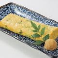 料理メニュー写真京九条葱たっぷりの出汁巻き玉子