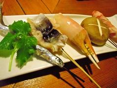 創作料理串かつ 串の陶