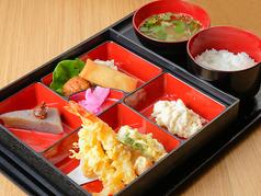 料理メニュー写真天ぷら御膳Tempura Set Meal