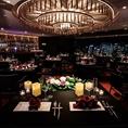 ≪10階 フロア貸切≫・・店内全体を使用したウエディングパーティーや結婚式2次会の貸切パーティーもお受けしております。30名様~200名様までご利用頂けます。