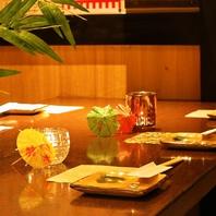 [松戸駅海鮮個室居酒屋]完全個室完備!扉付個室が大人気