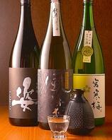 【稀少】豊富な地酒、焼酎