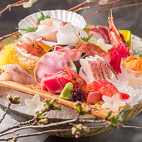 【期間限定】全8品◆鮮魚×天婦羅付◆『玄屋コース』4,500円(税込)