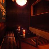 テーブル席です。(藤井寺 ブラジル シュラスコ 宴会 記念日 食べ放題 飲み放題 オシャレ 2階 ソファ 肉)