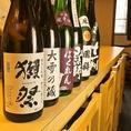 獺祭などの人気銘柄から地酒もご用意☆やきとり×ビールも良いですが、ビアガの後にやきとり×日本酒も組み合わせ◎!仕入れにより在庫状況が変わりますので、お好みの銘柄など気になるものが御座いましたら、お気軽に当店までお問合せ下さい。