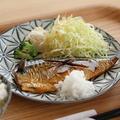 料理メニュー写真塩鯖定食