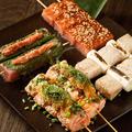 料理メニュー写真福蔵オリジナル魚串
