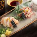 """ブランド鶏の【東京軍鶏】を中心に""""鶏屋""""ならではの創作料理をお楽しみください♪"""