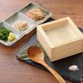 料理メニュー写真自家製できたて枡豆腐/自家製すくい豆腐