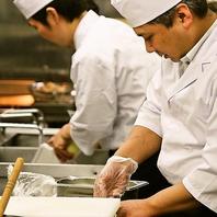 料理のほとんどが店内で手作り。美味しさの秘訣です。