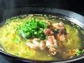 料理メニュー写真鶏ネギ塩ラーメン