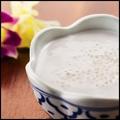 料理メニュー写真タピオカ入りココナッツミルク