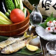 新鮮な季節の食材を、最高の料理で