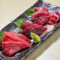 鮮魚を毎日豊洲から仕入れ