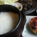 料理メニュー写真土鍋炊きご飯(1号)