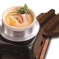 料理メニュー写真湯葉と海鮮の釜炊き茶碗蒸し