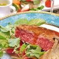 料理メニュー写真四季折々のシェフ特製料理に舌鼓