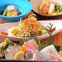 幅広いお料理メニュー☆