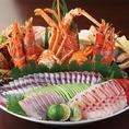 土佐の郷土料理。新鮮な海の幸を使ったメニューを多数ご用意。厳選した地酒、焼酎とともにお楽しみください。