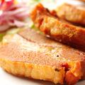 料理メニュー写真厚切り豚ロースのジューシー素揚げ