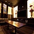 ■VIPルーム■「贅沢空間」大切な人と過ごすひととき。特別感を演出するプライベートルームで…。