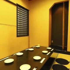 どの個室もゆったり寛げる個室となっております。ご宴会はもちろんの事普段使いにも◎