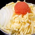料理メニュー写真【人気NO.1】明太子とチーズもんじゃ