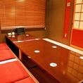 【個室】6名様用の個室あり♪ご予約はお早めに!