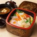 料理メニュー写真ちらし寿司
