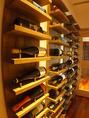 大きなワインセラーも完備しています