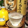 日本酒も各地より厳選する焼酎・日本酒