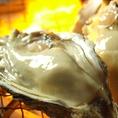 【生が苦手な方にも】牡蠣は生だけでなく炭火で焼いた状態でもお出しできます。お好みに合わせて、鮮度抜群の牡蠣をどうぞ。