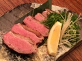 料理メニュー写真京鴨焼きの九条ネギのせ
