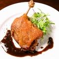 料理メニュー写真合鴨モモの肉コンフィ