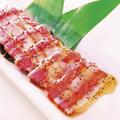 料理メニュー写真三元豚のはちみつ黒胡椒焼き