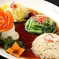 料理メニュー写真四種類冷菜の盛り合わせ
