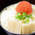 料理メニュー写真【人気NO.3】明太子と餅もんじゃ